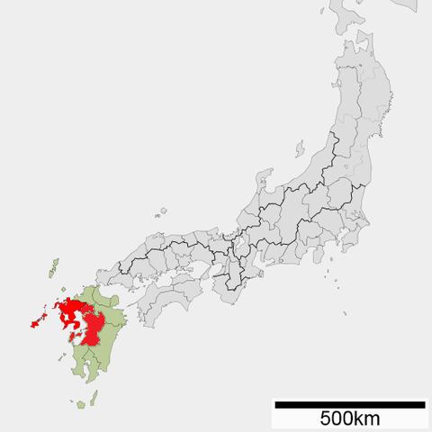 火の国 地図