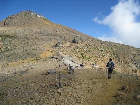 御嶽山八丁ダルミ2