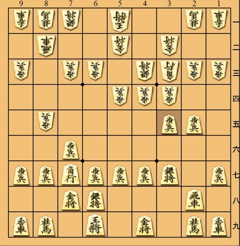 藤井増田3五歩