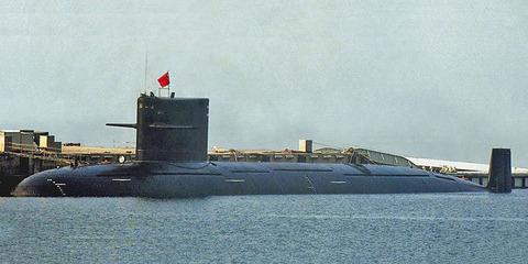 商型093潜水艦