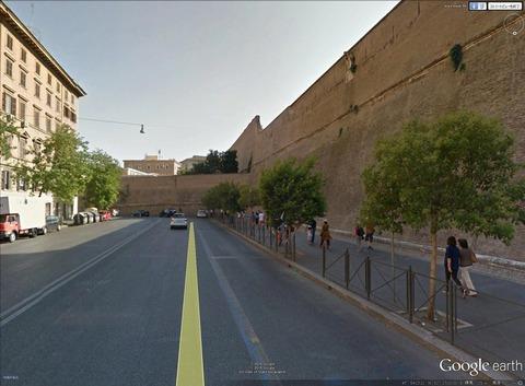 バチカンの城壁2