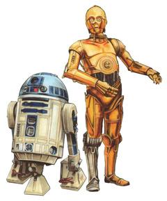 ロボットC-3PO_R2-D2_Im_Fadenkreuz