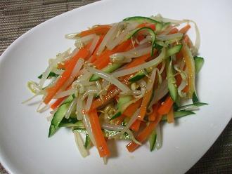 レンジで野菜ナムル