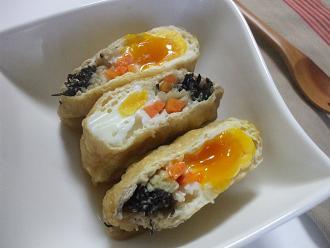 卵巾着の煮物
