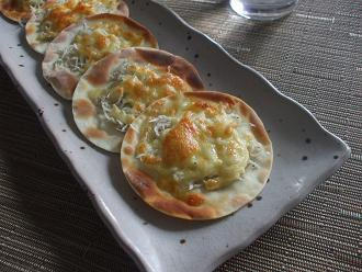 カリカリ餃子ピザ