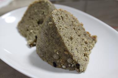 雑穀蒸しパン