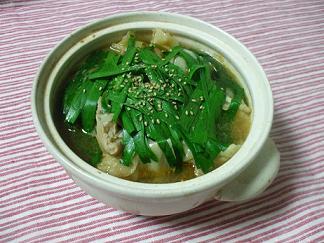 辛味噌モツ鍋