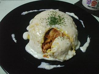 キムチチーズオムライス