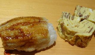 アナゴ&玉子焼き