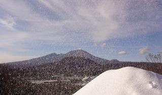 軽井沢人工雪