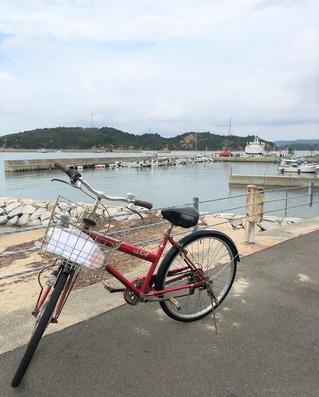 直島・自転車