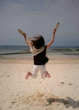 沖縄で跳ねる