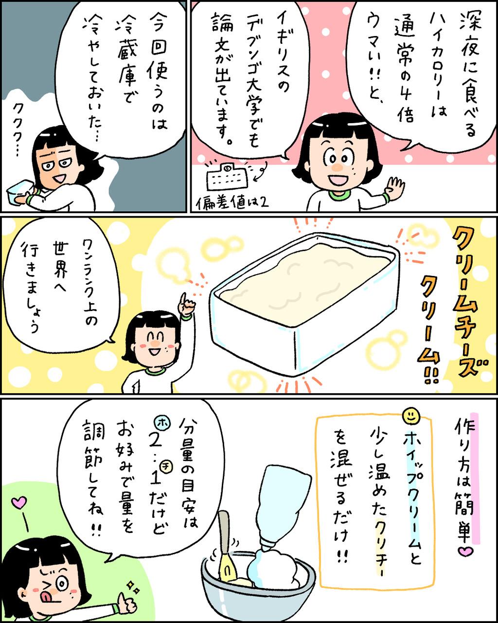 チーズ 太る クリーム