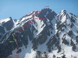 五竜岳G2中央稜