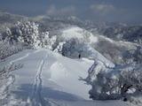 氷ノ山 ぶん回し 山スキー IMGP0647