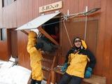 新しい冬季小屋