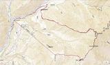 西穂高岳西尾根GPS軌跡_20180330-31