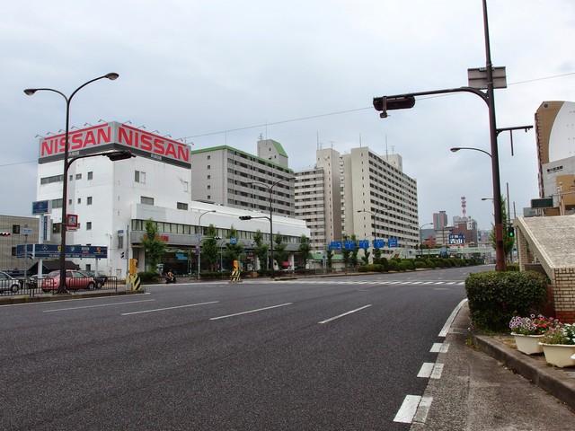 阪神高速生田川付近の国道2号線...