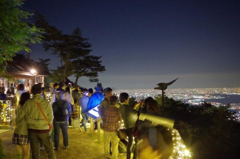 六甲山1000万ドルの夜景ガイドツアー