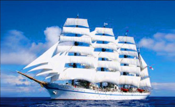 帆船パレード