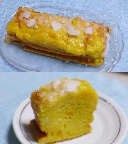 50カボチャのパウンドケーキ