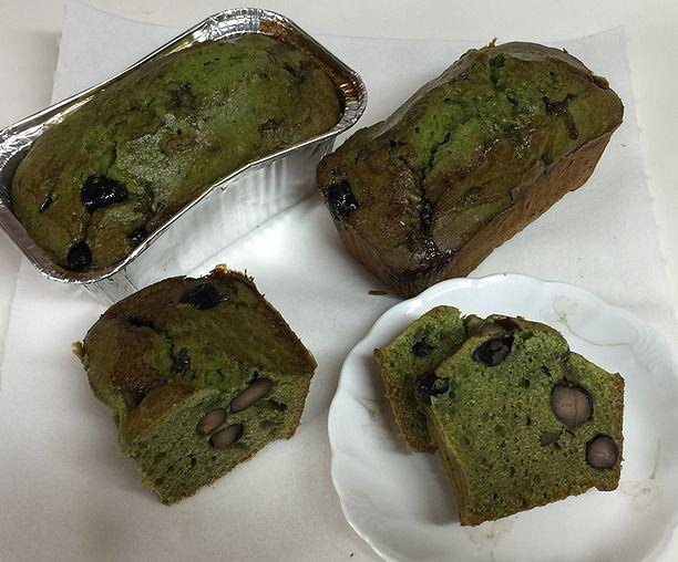 129黒豆抹茶パウンドケーキ