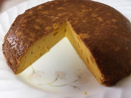 123カボチャのチーズケーキ