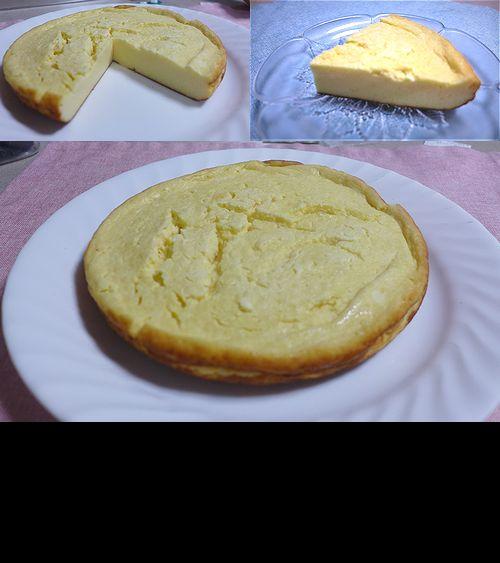 46ふわふわチーズケーキ