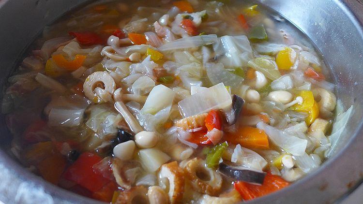 01野菜スープ