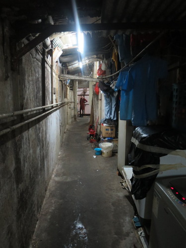 香港 雑居ビル