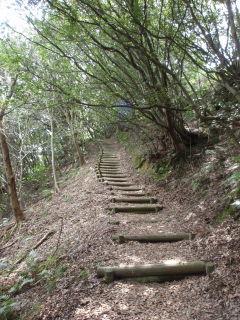 お山の階段