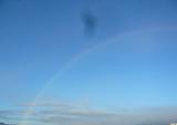 071120 屋上より 虹 1