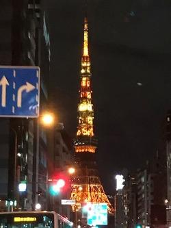 181120 夜の東京タワー�