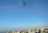 071120 屋上より虹 2