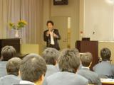 南京都高等学校進路学習会で講演