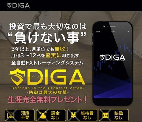全自動FXトレーディングシステム【DIGA】