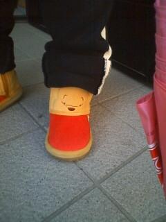 プーさんのブーツ