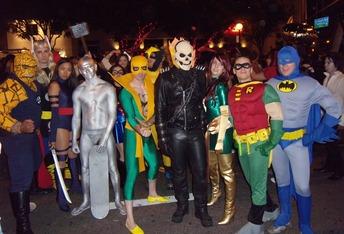 West Hollywood Halloween Carnaval heroes 09