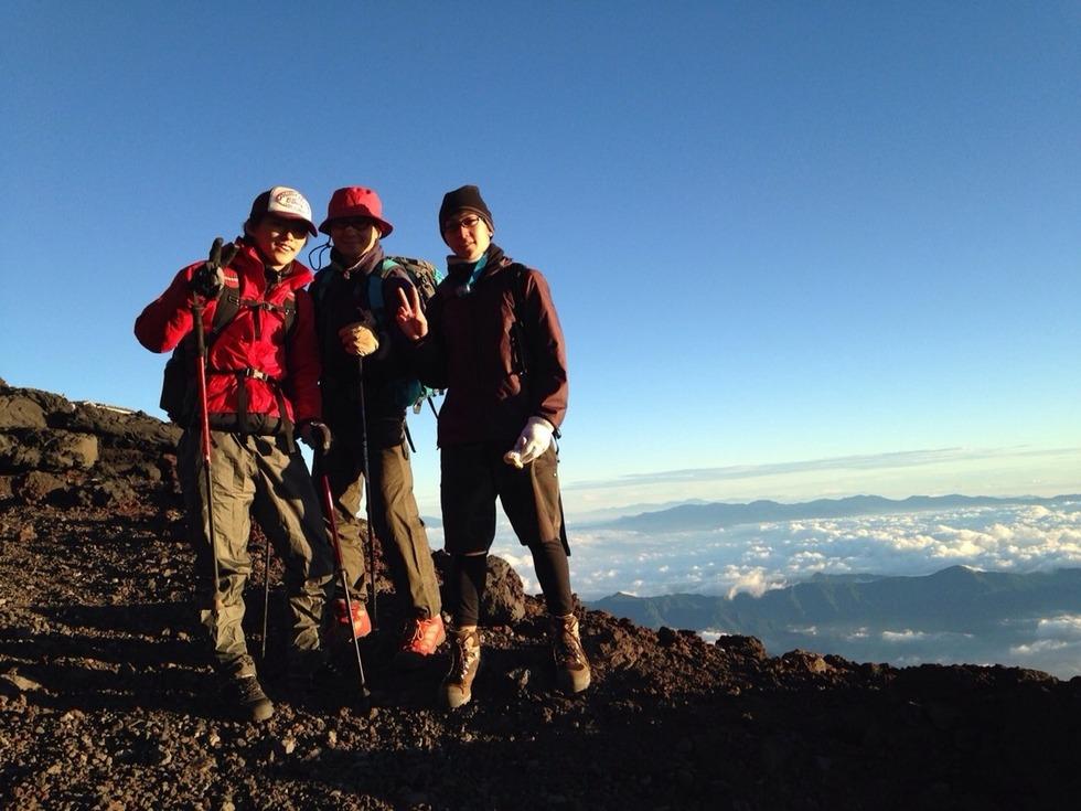 クソオセラー登山部、今年も富士山登頂!