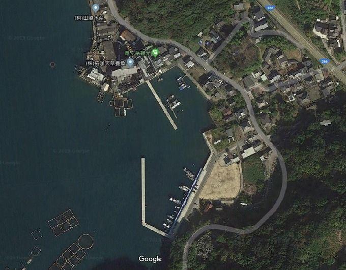大道の漁港