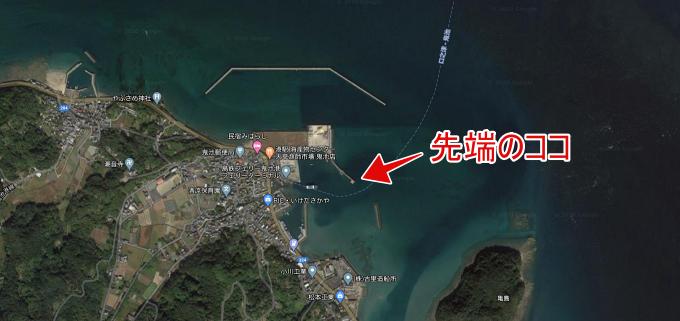 鬼池港地図