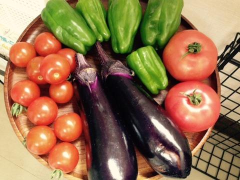 猿楽町の野菜