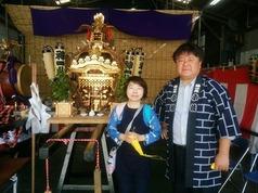 三崎のお祭りにて