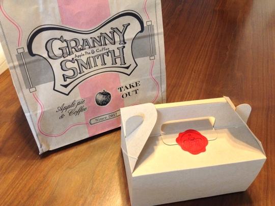 GRANNY SMITH 袋と箱