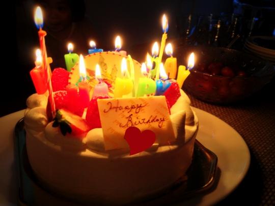 小僧さん 誕生日ケーキ