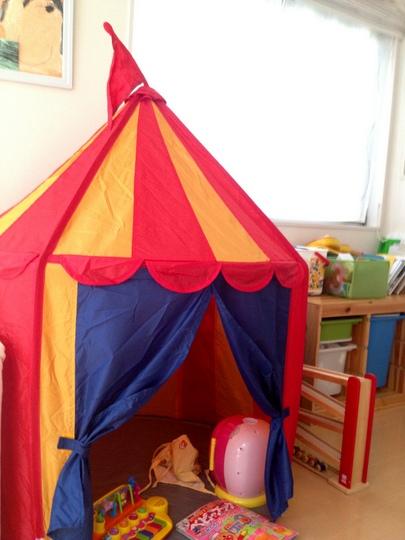 IKEA CIRKUSTALT 子供用テント