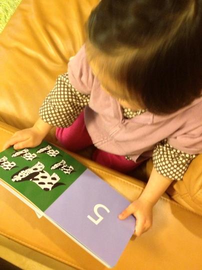 リサ・ラーソンの絵本を読む