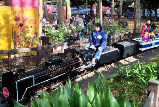 ミニSL機関車