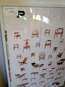 北欧デザインハウス 北欧名作椅子ポスター