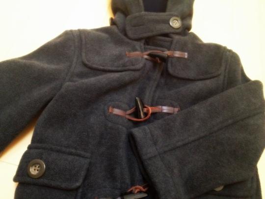 メドウブルックのダッフルコート ポケット